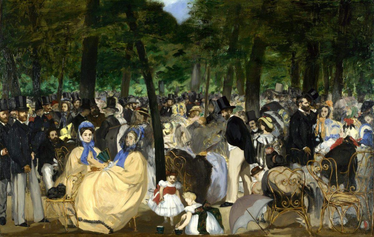 """Edouard Manet, """"La Musique aux Tuileries"""""""